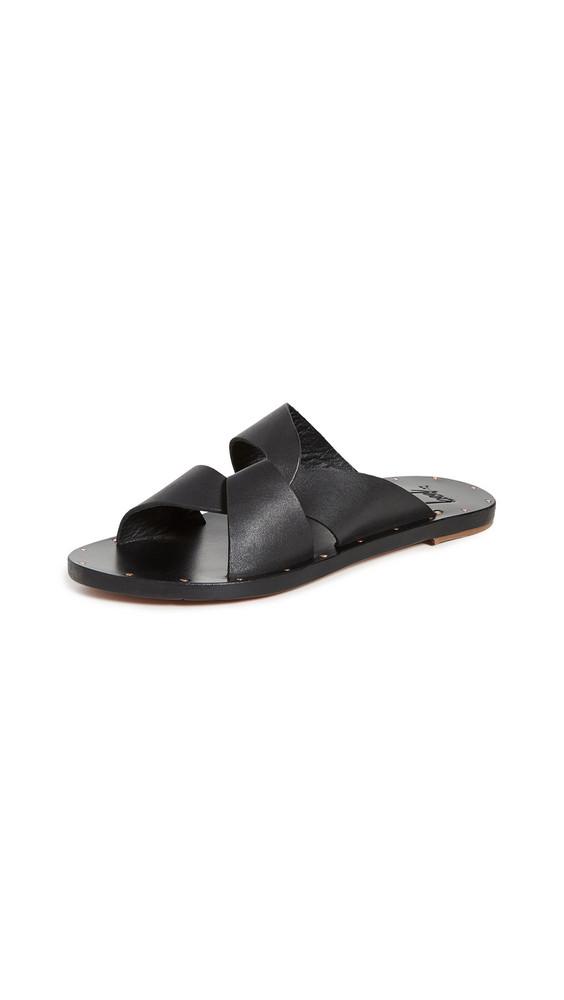 beek Pigeon Slides in black