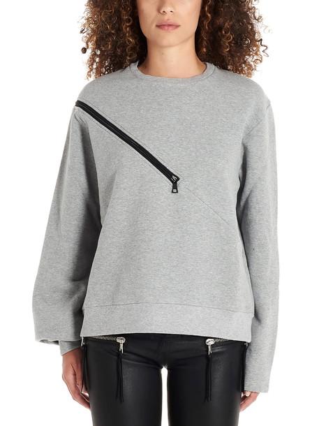 Ben Taverniti Unravel Project Sweatshirt in grey