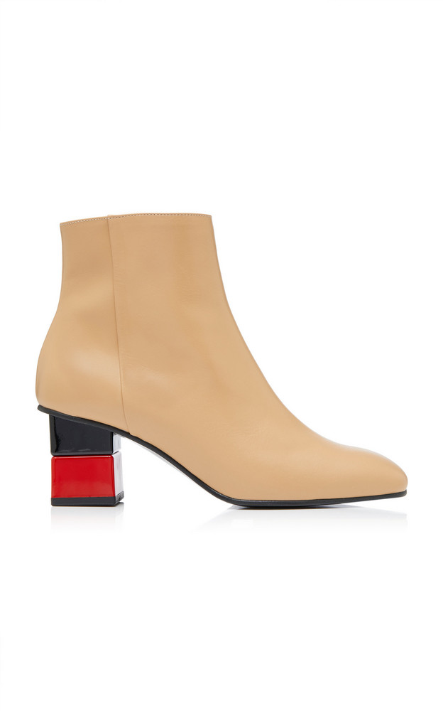 Yuul Yie M'O Exclusive Leather Ankle Boots in neutral