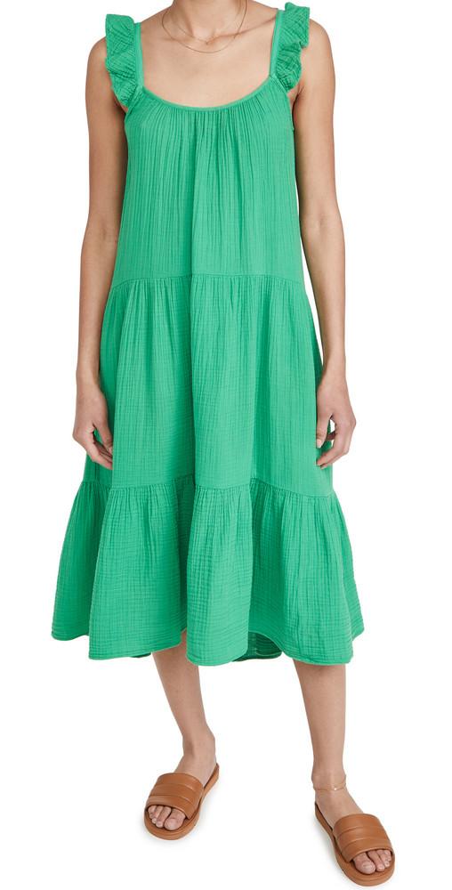 XIRENA Rumer Dress in green