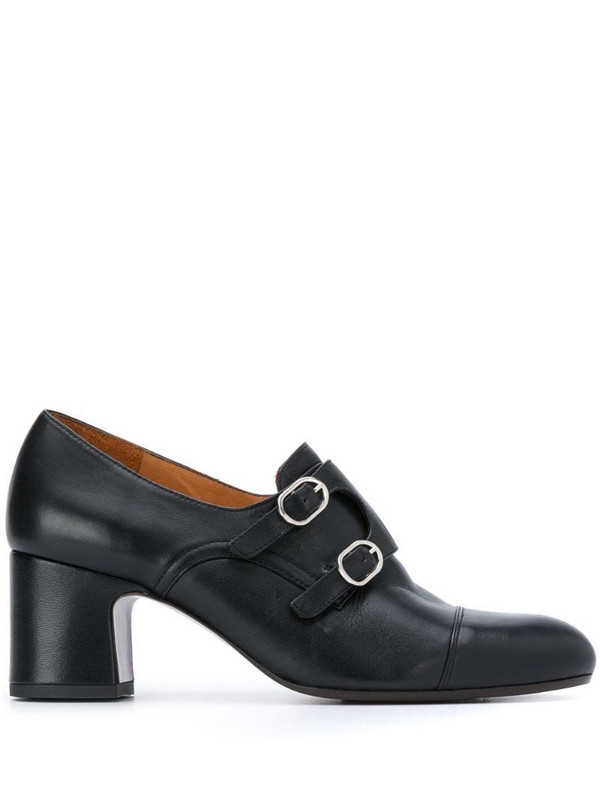 Chie Mihara monk-strap heeled shoes in black