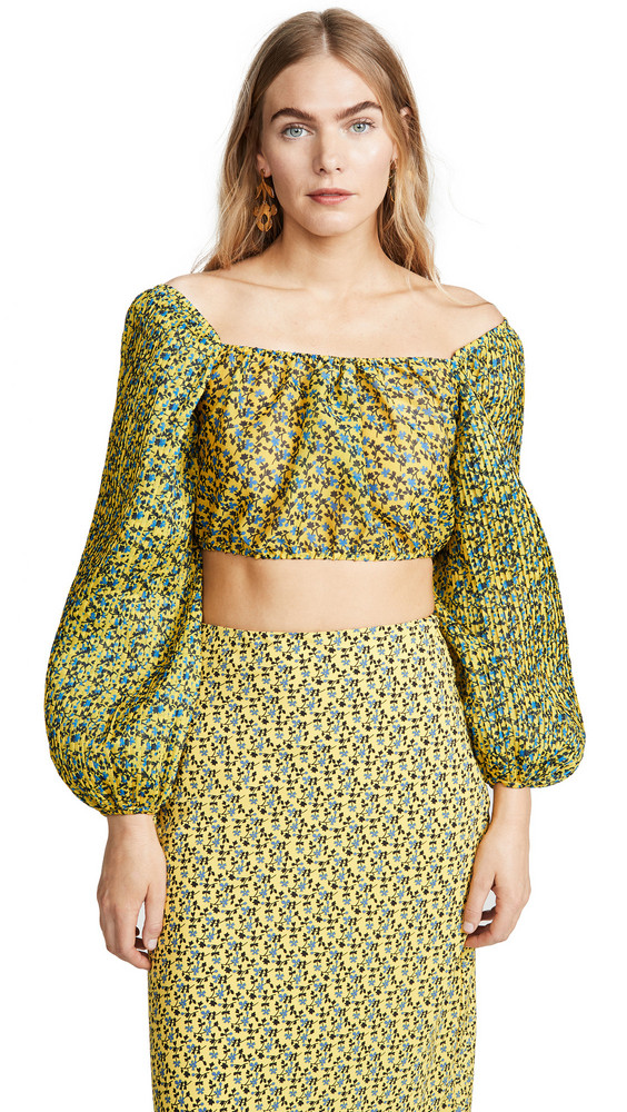 C/Meo Collective Come Across Top in yellow