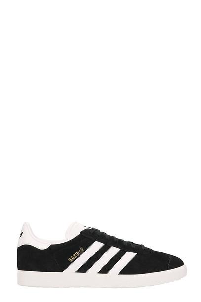 Adidas Gazelle Suede Sneakers in black