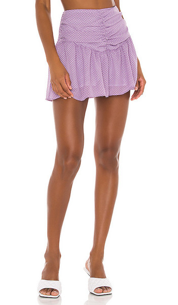 THE JETSET DIARIES Devon Short in Lavender in lilac / white