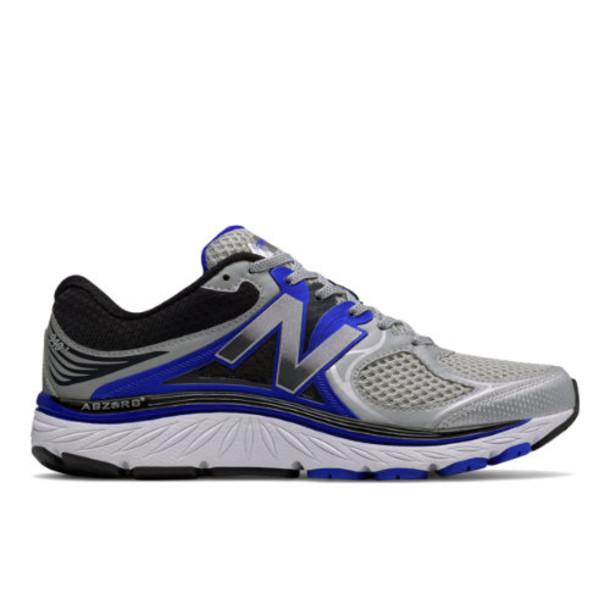 New Balance 940v3 Men's Stability Shoes - Silver/Blue/Black (M940SB3)