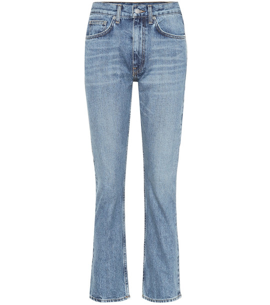 Brock Collection Orlando high-rise jeans in blue