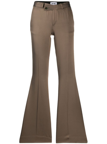 Each X Other Tailored suit trousers in brown