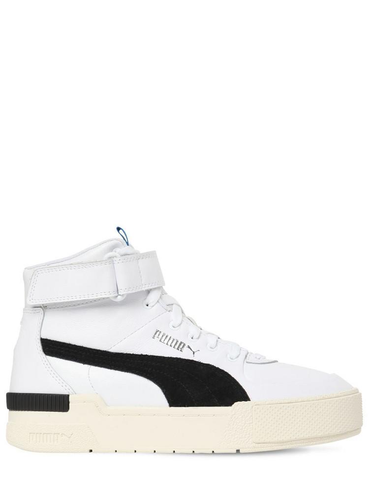 PUMA SELECT Cali Sport High Top Sneakers in black / white