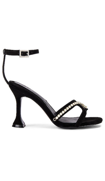JAGGAR Diamante Sandal in Black
