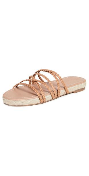 Madewell Bobbi Crisscross Woven Sandals in brown