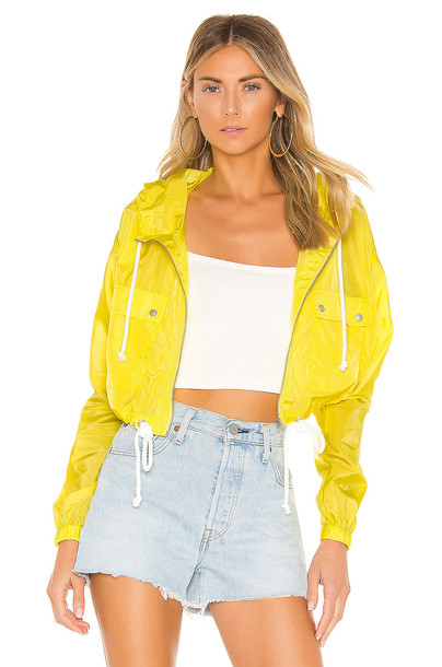 Lovers + Friends Bonnie Jacket in yellow