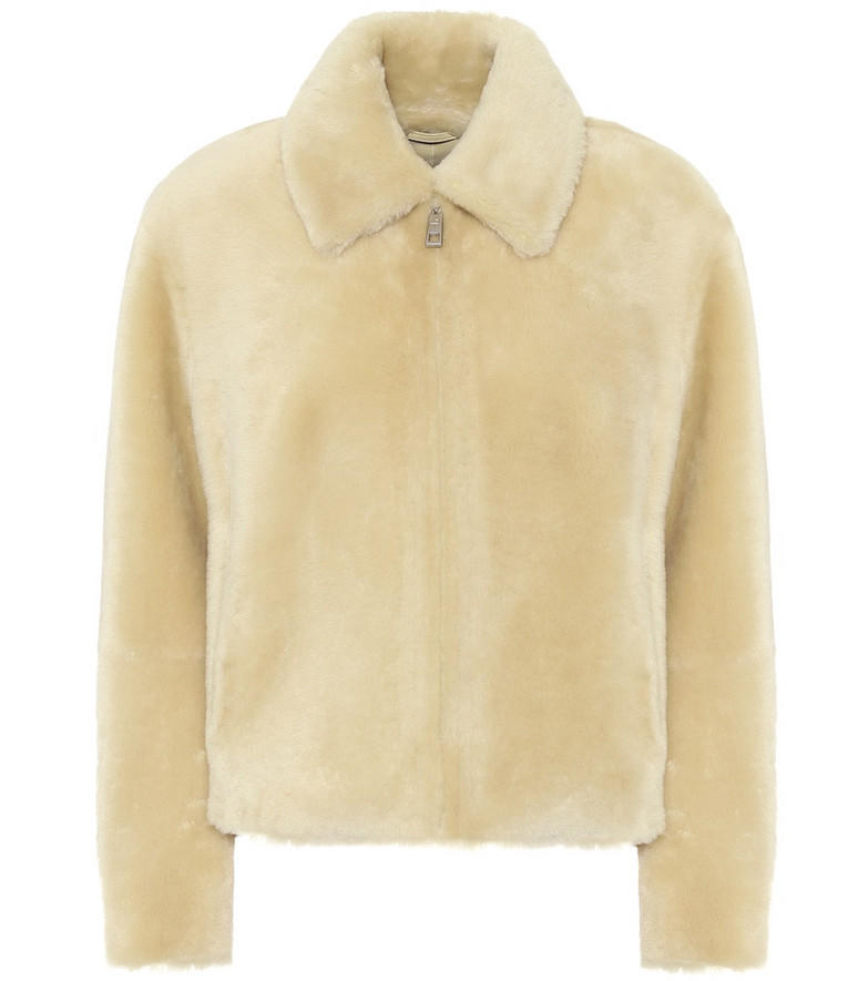 Common Leisure Shearling jacket in beige