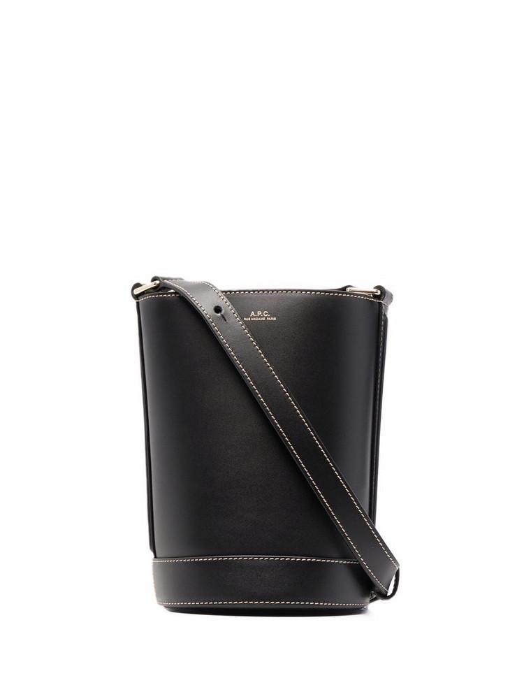 A.P.C. A.P.C. Sac Ambre bucket bag - Black