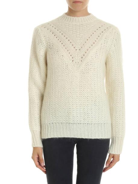 Alberta Ferretti - Sweater in white