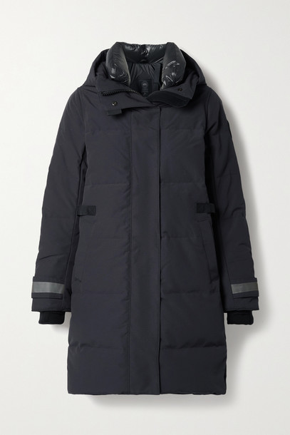 CANADA GOOSE - Bennett Hooded Quilted Shell Down Parka - Blue