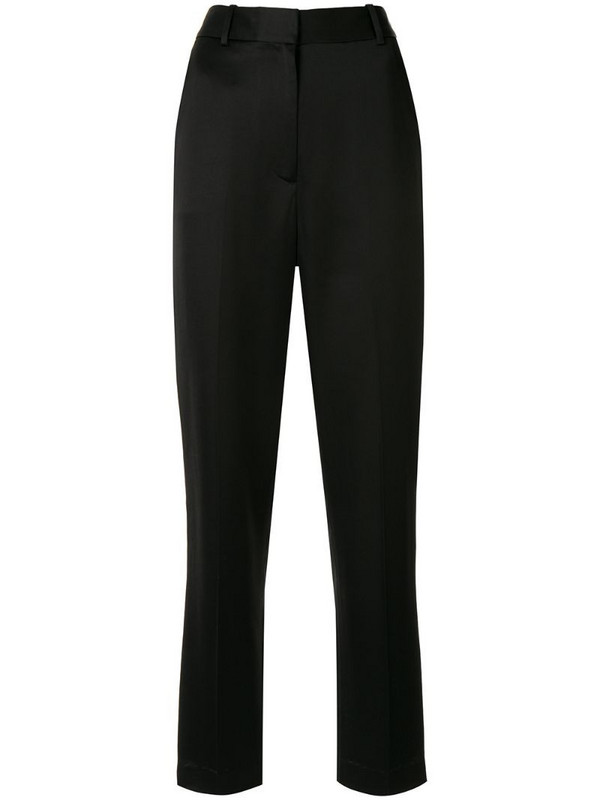 Partow Sawyer straight leg trousers in black