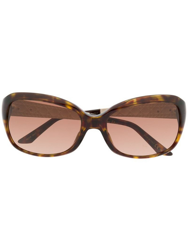 Dior Eyewear Coquette tortoiseshell sunglasses in brown