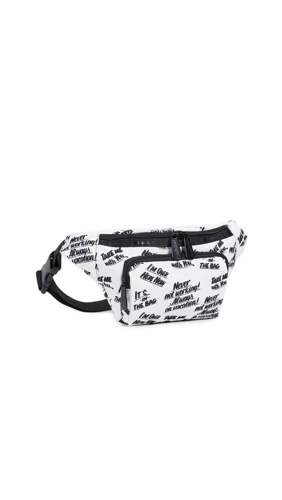 LeSportsac x Baron von Fancy Belt Bag in white