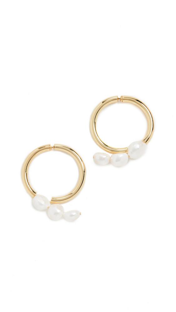 Cult Gaia Leonie Earrings in gold / metallic