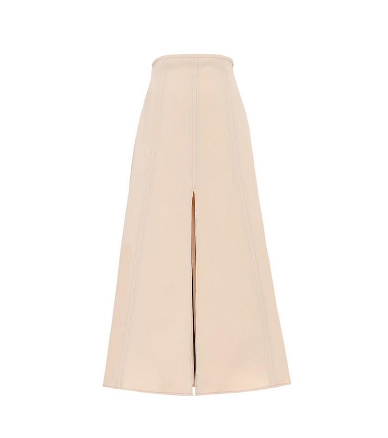Ellery Gulliver high-rise maxi skirt in beige