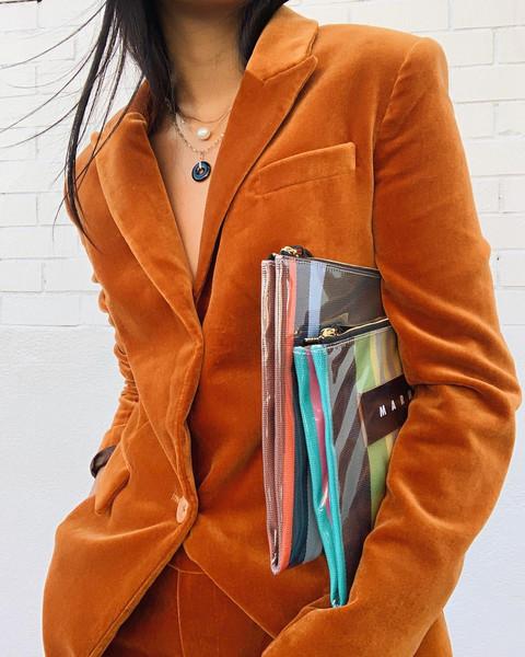 jacket bag pants