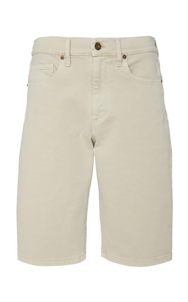 Nanushka Kiki Stretch-Denim Bermuda Shorts Size: 25 in neutral