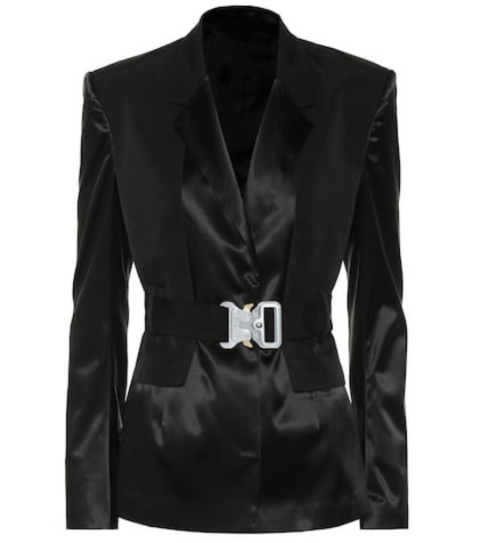 1017 ALYX 9SM Satin blazer in black