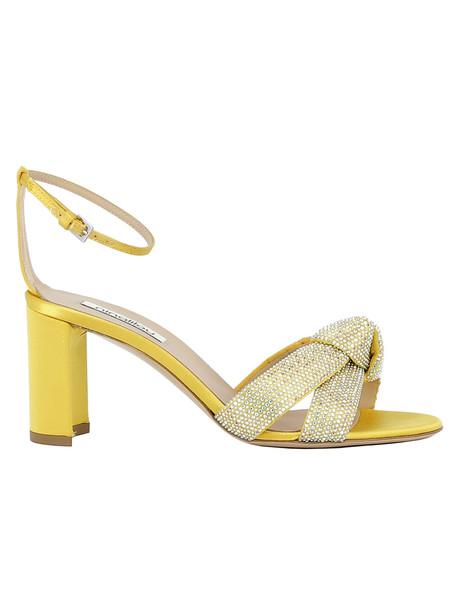 Ninalilou Ocher Sandals in yellow