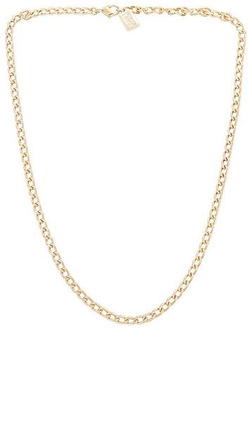 MIRANDA FRYE Loren Necklace in Metallic Gold