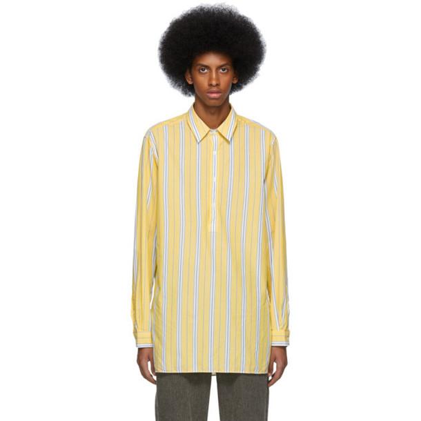 HOPE Yellow Stripe Far Shirt