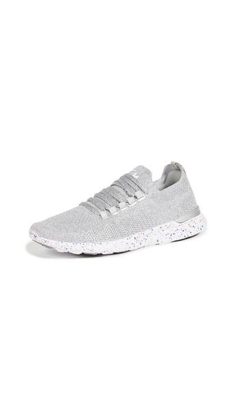 APL: Athletic Propulsion Labs TechLoom Breeze Sneakers in blue / metallic / silver