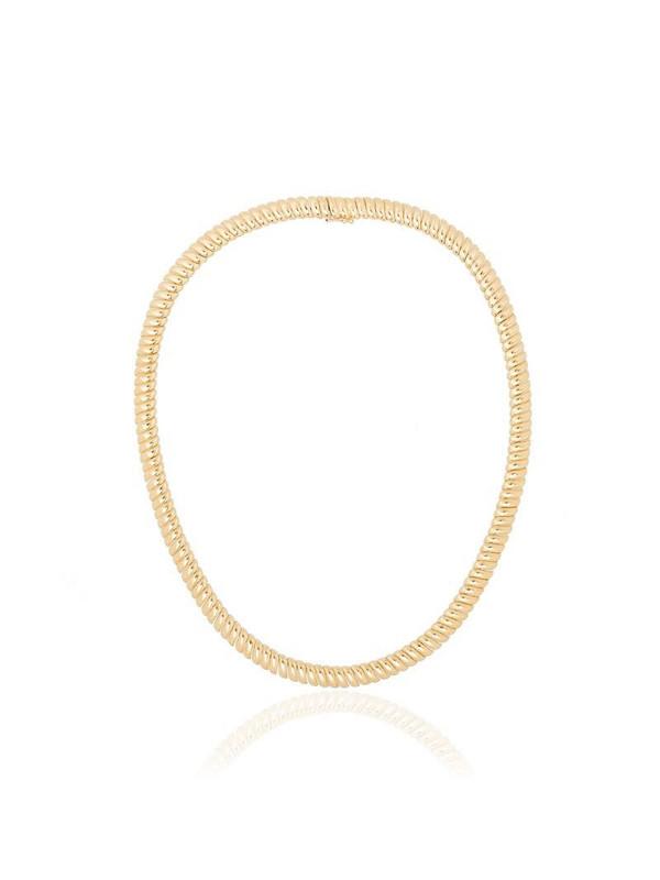 Anita Ko Zoe link necklace in gold
