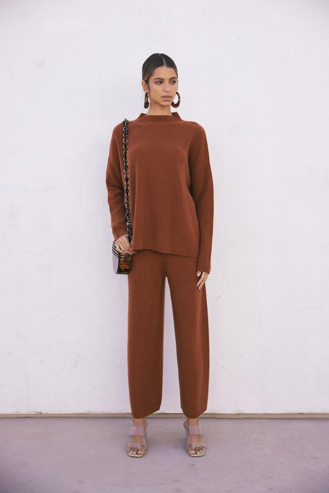 Cult Gaia Sierra Sweater - Clay (PREORDER)                                                                                               $198.00