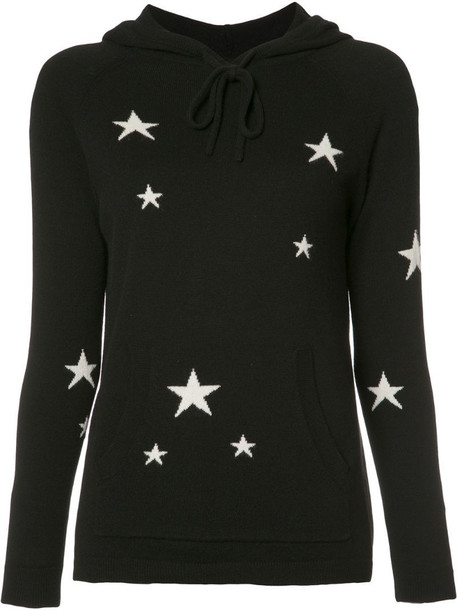 Chinti and Parker 'Star' hoodie in black