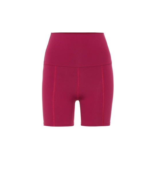 Live The Process Geometric shorts in pink