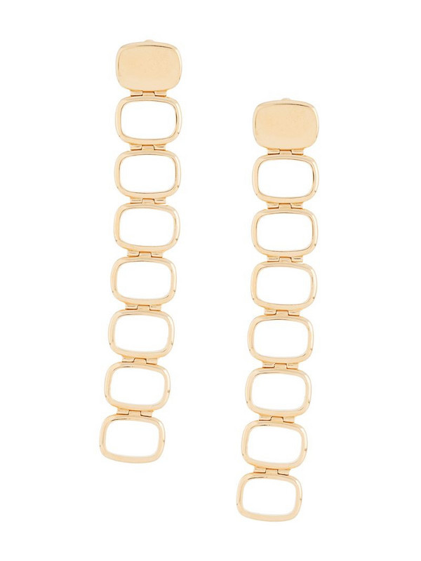 IVI chain-link old earrings in gold