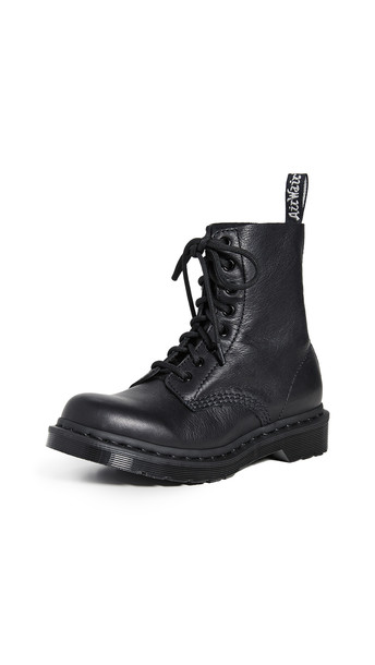 Dr. Martens 1460 Pascal Mono 8 Eye Boots in black