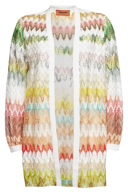 Missoni Knit Cardigan with Cotton