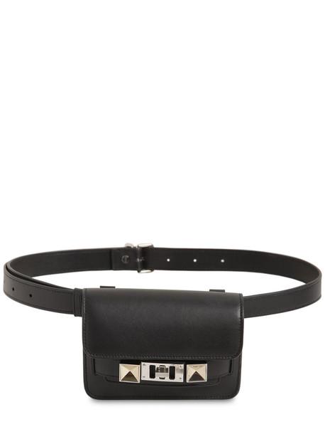 PROENZA SCHOULER Ps11 Smooth Leather Belt Bag in black