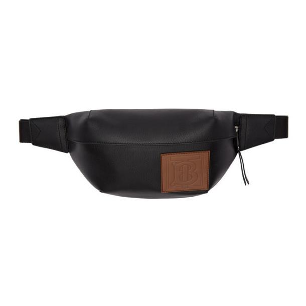 Burberry Black Monogram Medium Sonny Bum Bag