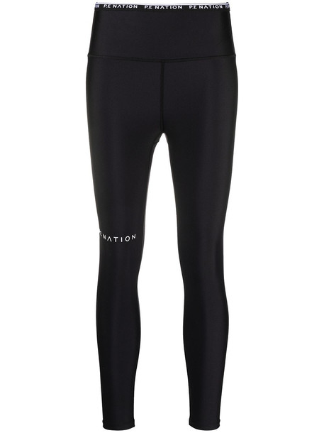 P.E Nation Power Play 7/8 leggings - Black