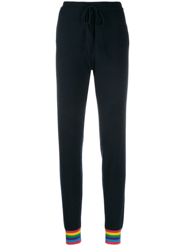 Chinti and Parker cashmere snoopy trousers in blue