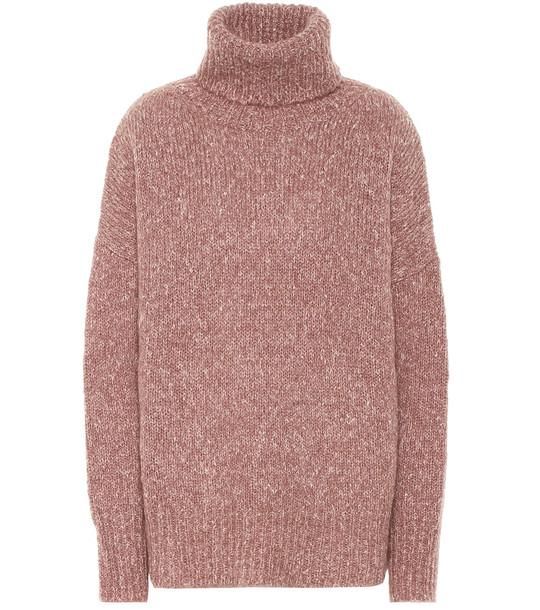 Isabel Marant, Étoile Shadow alpaca-blend sweater in pink