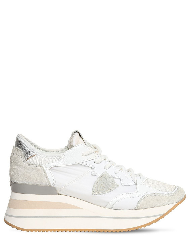 PHILIPPE MODEL Triomphe Mondial Sneakers in white