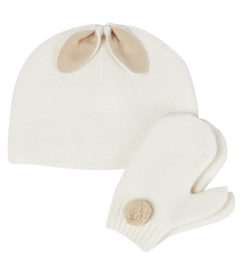 Il Gufo Baby set of virgin wool beanie and gloves