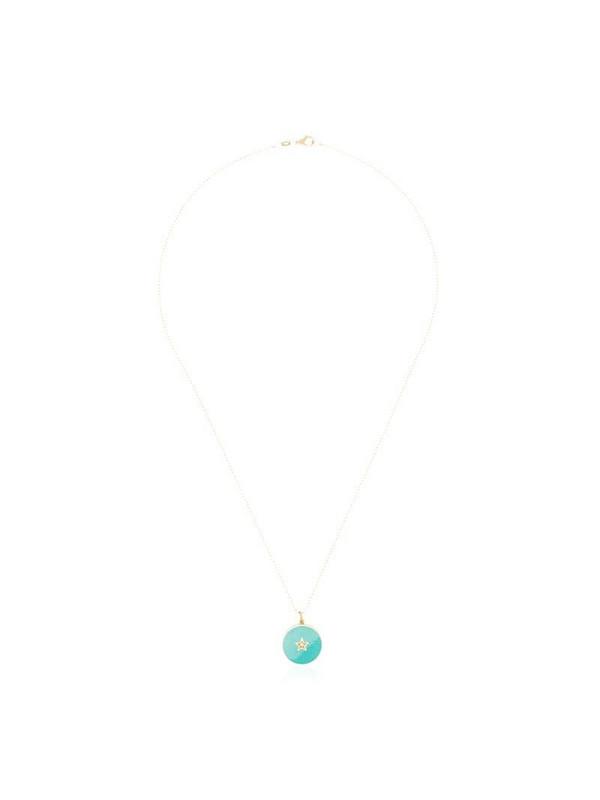 Andrea Fohrman 18K yellow gold diamond necklace