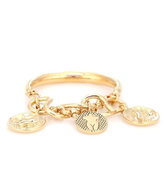Chloé Emoji brass bracelet in metallic