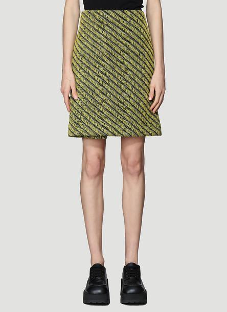 Namacheko Atim Knit Skirt in Yellow size S