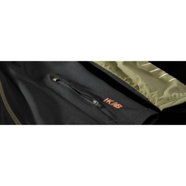 New Balance 4354 Women's HKNB Run Jacket - Black, Combat (WRJ4354KBK)