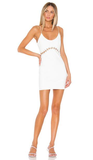 superdown Brooklyn Mini Dress in White